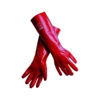 MSA SARUNG TANGAN PVC, red, 27cm