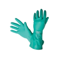 MSA GLOVE, NITROSOLV, FLOCKED LINED, SMALL