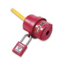 MASTERLOCK 487-ROTATING ELECTRICAL PLUG LOCKOUT, 110 AND 220 VOLT PLUGS