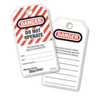 MASTERLOCK  497A-TAGOUT DANGER DO NOT OPERATE 1 PACK / 12