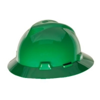 MSA 454735-HELM MSA FULLBRIM GREEN COLOUR C/W STAZ-ON