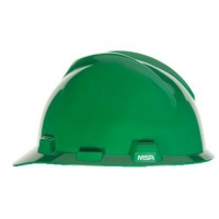 MSA 463946-HELMET V GARD MSA USA GREEN C/W STAZ - ON