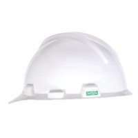 MSA 463942- HELMET V GARD MSA USA WHITE C/W STAZ - ON