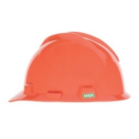 MSA 463945- HELMET V GARD MSA USA ORANGE C/W STAZ - ON