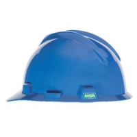 MSA 463943-HELMET V GARD MSA USA BLUE C/W STAZ - ON