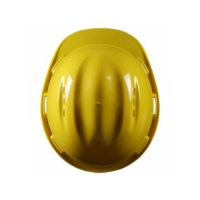 MSA C-50 PE (YELLOW) WITH STAZ-ON + D CHINSTRAP