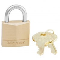 MASTERLOCK SOLID BRASS PADLOCK KEY DIFFERENT NO 130D