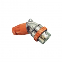 CLIPSAL 56PA532© PLUG TOP, STRAIGHT, 5 ROUND PIN, 32A, 500V, IP66