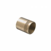 CLIPSAL 1242BSP20/20 ADAPTOR COUPLING, BRASS, 3/4-14 X M20X1.5