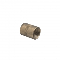CLIPSAL 1242/25 CONDUIT COUPLING, BRASS, M25X1.5