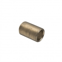 CLIPSAL 1243/20 CONDUIT NIPPLE, BRASS, M20X1.5