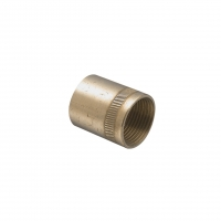 CLIPSAL 1242BSP15/20 ADAPTOR COUPLING, BRASS, 1/2-14 X M20X1.5