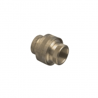 CILPSAL 1242BU20 BARREL UNION, BRASS, 20MM NOMINAL THREAD