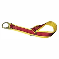 MSA 10023490 ANCHORAGE CONNECTOR STRAP, YELLOW NYLON, DOUBLE D-RING