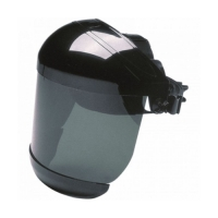 MSA 227500GN5 BLACK EAGLE FACESHIELD SHADE 5