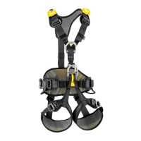 PETZL FULL BODY HARNESS AVAO BOD FAST P/N PC71BA01 SIZE 1