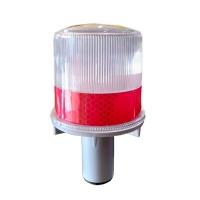 LAMPU DELIMAS / SAFETY CONE TENAGA SURYA MERAH