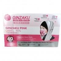 MASKER 3 PLY GINZAKU PINK