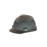 MSA Standard V-Gard Slotted Cap Navy (Gray)-463948