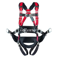 TechnaCurv Tower Harness w/integral backpad