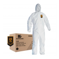 Kimberly KLEENGUARD*44323L-LA40 Liquid & Particle Protection Coveralls LRG