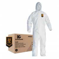 Kimberly KLEENGUARD* 44322M-A40 Liquid & Particle Protection Coveralls MED