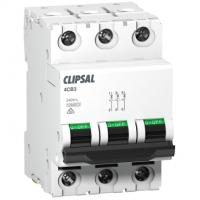 Miniature Circuit Breaker, 3 Module, 3 Pole, 20A, 10kA, D-Curve