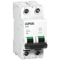 Miniature Circuit Breaker, 2 Module, 2 Pole, 63A, 10kA, C-Curve