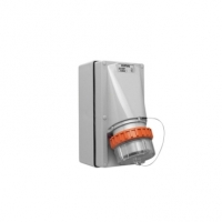 Appliance Inlet, 5 Round Pin, 50A, 500V, IP66