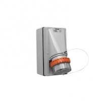 Appliance Inlet, 5 Round Pin, 40A, 500V, IP66