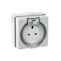 Socket Outlet, 3 Pin, 250, 13A, EO