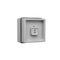 Surface Switch, 1 Gang, 1 Pole, 250VAC, 15A, Single Sliding