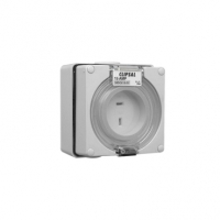 Socket Outlet, 2 Pin Polarised, 15A