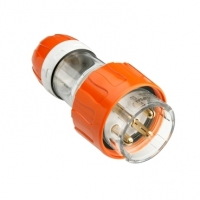 Clipsal Type 56P432 Plug Top, Straight, 4 Round Pin, 32A, 500V, IP66
