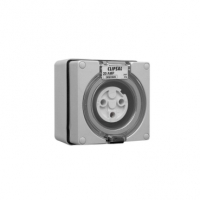 Socket Outlet, 4 Pin Round, 10A