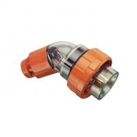 Plug Top, Angled, 3 Round Pin, 20A, 250V, IP66