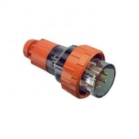 Plug Top, Straight, 7 Round Pin, 20A, 500V, IP66