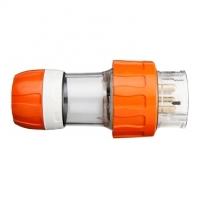 Plug Top, Straight, 5 Round Pin, 50A, 500V, IP66