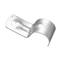 Clipsal Type 180/20 Half Saddle, Zinc Plated, 20mm, 5mm Hole Diameter