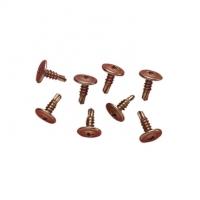 Self Drilling Screw, Washer Head, 8Gx12mm, 100 per Bag
