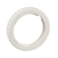 Clipsal Type 260/25 Screwed Lock Ring, 25mm, Grey