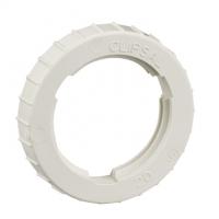 Clipsal Type 260/20 Screwed Lock Ring, 20mm, Grey