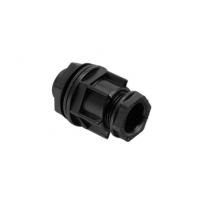 Clipsal type 282/20 Cable Gland, Non Metallic, 20mm, Black