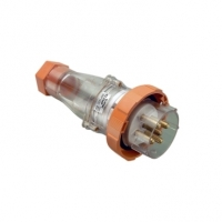 Plug Top, Straight, 5 Pin, 63A, 500V, IP66