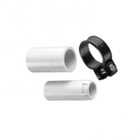 Clipsal Type 263F20 Conduit Adaptor, Corrugated, PVC, 20mm, Plain to Flexible, Grey