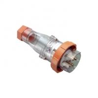 Plug Top, Straight, 4 Pin, 63A, 500V, IP66