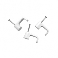 Cable Clip, Moulded, 6mmsq, Box of 100