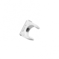 Clipsal Type 280/20 Conduit Clip, PVC, 20mm, Grey