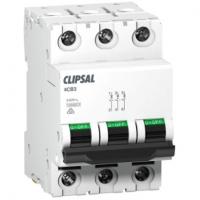Miniature Circuit Breaker, 3 Module, 3 Pole, 25A, 10kA, D-Curve