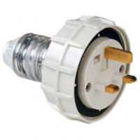 Plug Top, Straight, 3 Flat Pin, 13A, 250V, IP56
